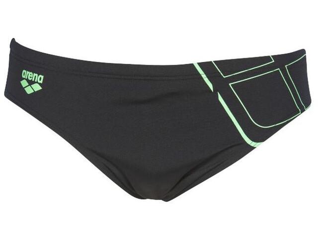 arena Essentials Parte Inferior Hombre, black/golf green